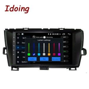 "Image 2 - Idoing 9 ""4G + 64G Octa çekirdek 1Din araba radyo Android multimedya oynatıcı Fit Toyota Prius GPS navigasyon Autoradio 2.5D IPS ekran"