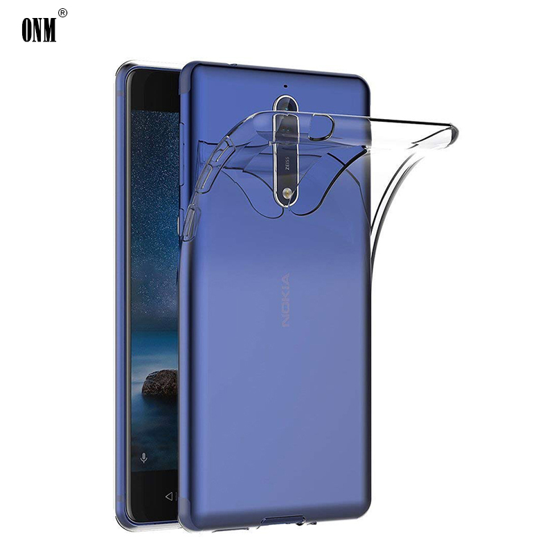 Case For Nokia 8 6 5 1 TPU Silicon Durable Clear Fitted Bumper Soft for Transparent Back Cover