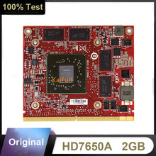 Originele HD7650A HD7650 Hd 7650A 215-0803043 Video Kaart Voor Hp Hd 7650A Mxm 2Gb DDR3 Gpu Grafische kaart 109-C28857-00