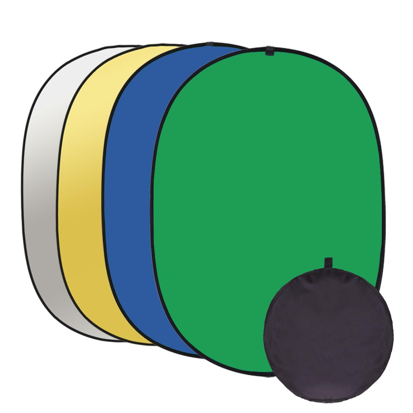 150x15 0 см/200 x см фон для фотосъемки хромакей зеленый синий экран портативный складной Реверсивный фон для фотостудии