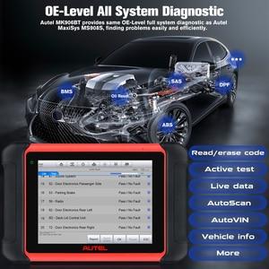 Image 4 - Autel MaxiCOM MK906BT ECU Coding Tablet Scanner Diagnostic Tool OBD2 Car Accessories Wireless Bluetooth Better Than MS906BT