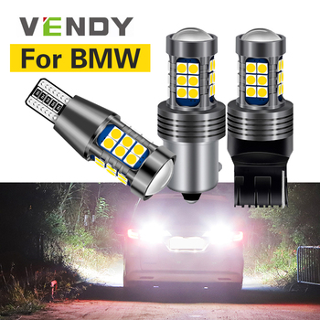 1pcs For BMW e46 e90 e60 e39 e36 f10 f30 f20 f11 e87 x5 e70 e91 e34 e38 LED Reverse Light Canbus Lamp W16W T15 P21W BA15S W21W image