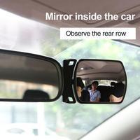 Auto Spiegel 360 Grad Einstellbar Breite Winkel Seite Hinten Spiegel blind spot Snap weg für parkplatz Hilfs rückspiegel baby Innenspiegel    -