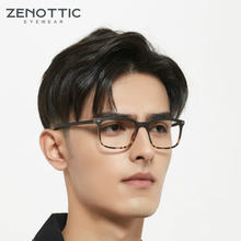 Zenottic анти синий светильник компьютерные очки для мужчин
