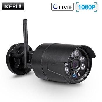KERUI 2MP 1080P Wireless Outdoor Home Security WiFi IP Camera Full HD IP54 Waterproof Surveillance CCTV Night Vision - discount item  55% OFF Video Surveillance