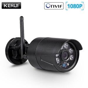 Image 1 - KERUI 2MP 1080P Wireless Outdoor Home Security WiFi IP Kamera Volle HD IP54 Wasserdichte Überwachung CCTV Kamera Nachtsicht