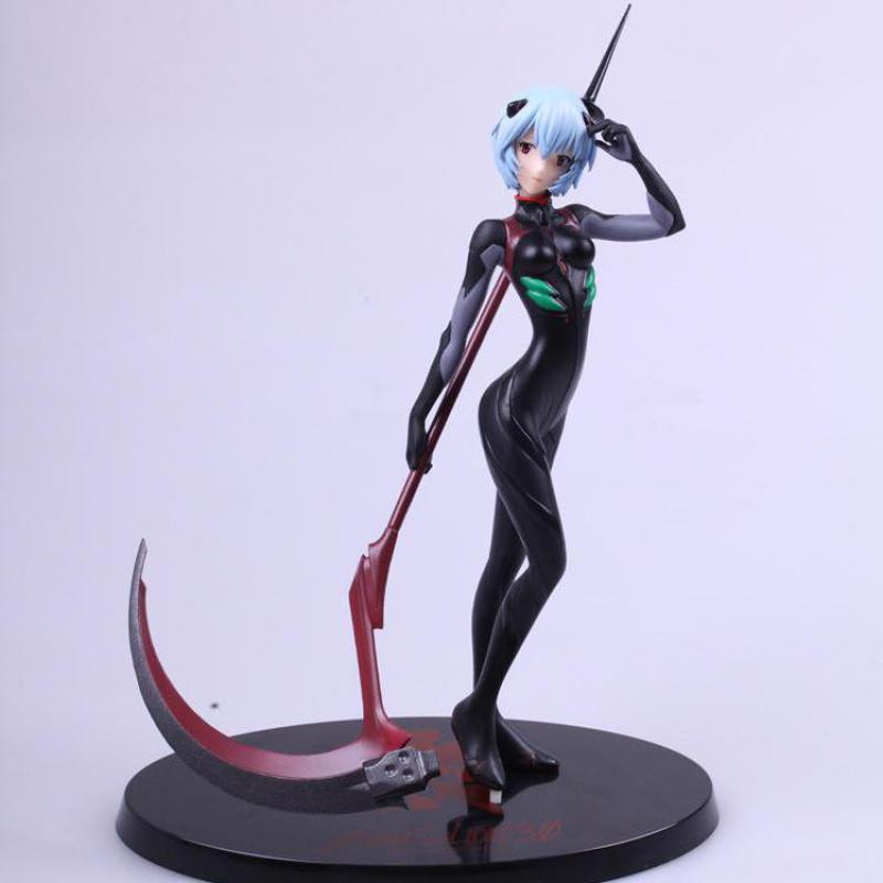 20cm Neon-genesis-evangelion Ayanami Rei Anime Girl Static Action Figure Sexy Beauty High Quality Pvc Figurines Colection Toys