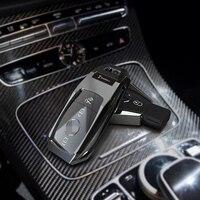 Car Key Case Cover fob For Mercedes Benz W203 W210 W211 W124 W202 W204 W212 W176 AMG GLC 260 C200 CLA GLA 200 car Accessories