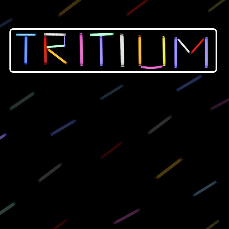 1/Pcs 1.5*6mm Betalight EDC Outdoor Kit Marker Tritium Gas Tube 15 Years Self Luminous For DIY Tool