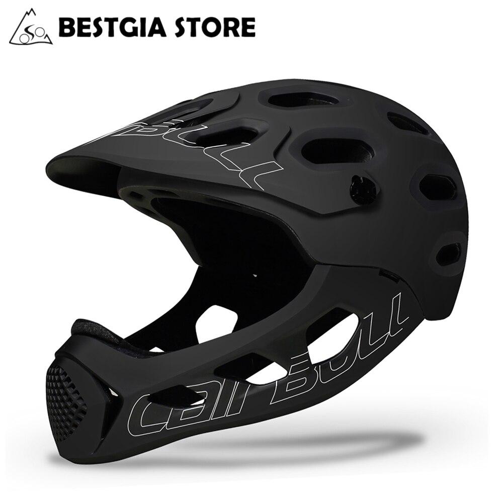 Cairbull adulte casque de vélo intégral Casco vtt montagne route vélo complet couvert casque moto DH descente vélo casque