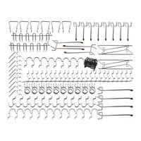 Pegboard Hooks Assortment   102Pcs Peg Hook Organization|Hooks & Rails| |  -