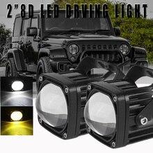 1Pc 2Inch 30W Led Verlichting Bar Spot Offroad Rijden Fog Lamp Voor Auto Vrachtwagen Motorfiets Boot DC10 30V Koplamp