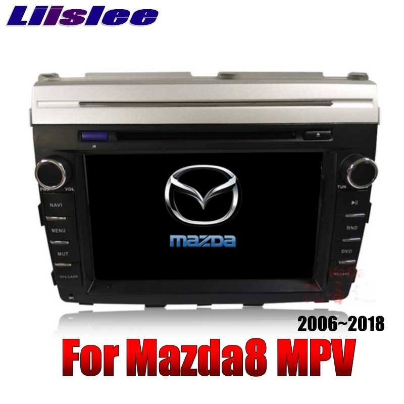 Pour Mazda MPV LY pour Mazda8 2006 ~ 2018 LiisLee voiture multimédia TV DVD GPS Audio WiFi Radio stéréo Android 8 'pouces Navigation NAVI