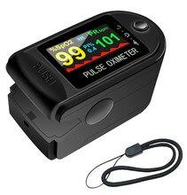 Oxímetro de pulso do dedo clipe batimento cardíaco oximetro portátil freqüência cardíaca spo3 monitor pressão sensor medidor oxigênio no sangue