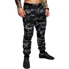 Мужские джоггеры, камуфляжные тренировочные брюки, повседневные спортивные камуфляжные брюки, брендовые длинные армейские брюки для фитне...