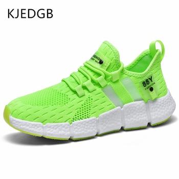 KJEDGB Brand New High quality Men Sneakers Summer 2020 Breathable Mesh Men s Casual Shoes
