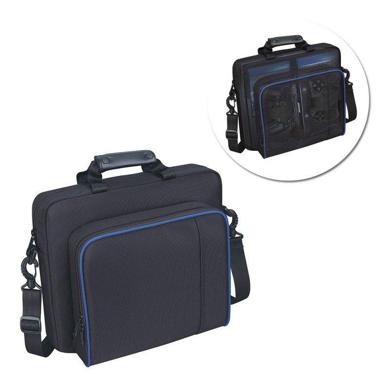 <font><b>PS4</b></font> Game System Bag Carry <font><b>Case</b></font> Bag for Sony Playstation 4 <font><b>PS4</b></font> Slim <font><b>Console</b></font> System Accessories image