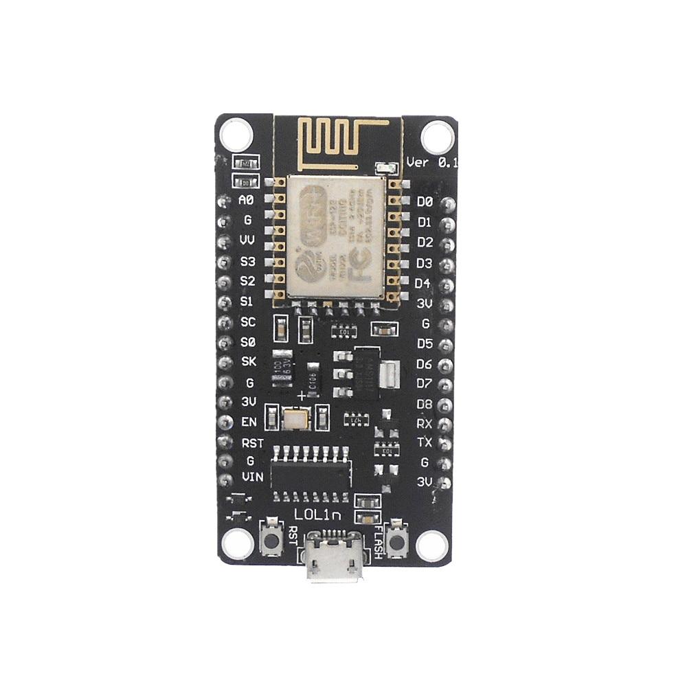 Макетная плата NodeMCU Lua Wi-Fi, на базе модуля ESP8266, CP2102 CH340G, с Wi-Fi, подходит для использования в режиме ESP8266 и CH340G