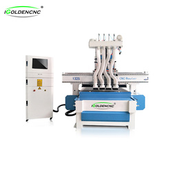 cheap cnc wood router 1325 3d woodworking furniture making machine prices