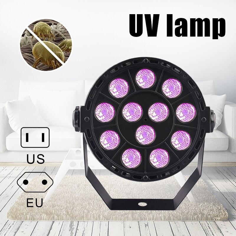 Hot Home Room Disinfection UV Lamp 12 LEDs Sterilizing Lights Disinfect Light PLD