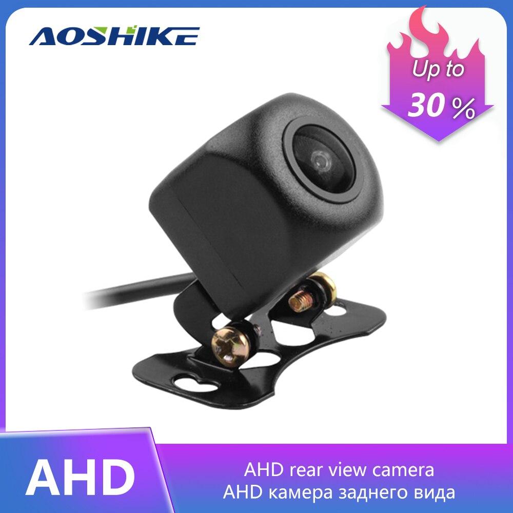 AOSHIKE 170 Degree Fisheye Lens 1280*720P Starlight Night Vision Car Rear View Reverse Backup Vehicle Parking AHD Camera