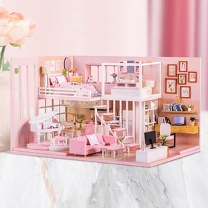 DIY DollHouse Wooden Miniature