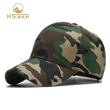 HSSEE official authentic army camouflage cap cotton breathable comfortable fishing unisex outdoor sports hat - discount item  30% OFF Fishing