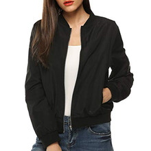 Outdoor Sport Jacket Blouse Womens Coat Classic Quilted Short Bomber Streeswear Autumn Female