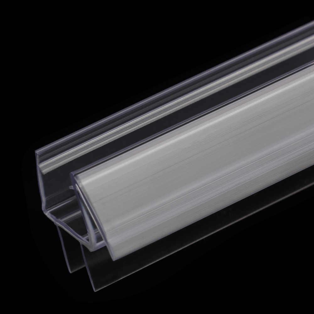 Tela do chuveiro de banho porta vedação tira 4 a 12mm de borracha porta vidro weatherstrip portátil vidro da janela acessórios do agregado familiar