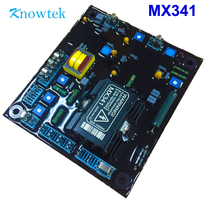 AVR MX341 Automatic Voltage Volt Regulator For brushless Generator-in Generator Parts & Accessories from Home Improvement