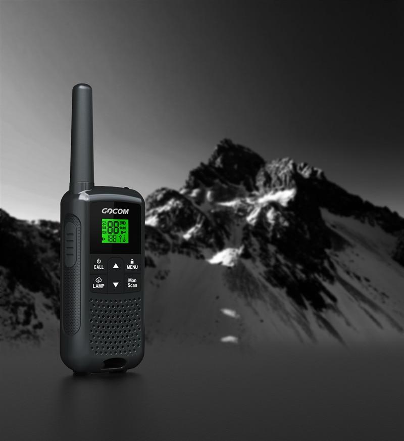 New Design 2pcs GOCOM G200 Long Range Two Way Radios Business Walkie Talkie 16 Km