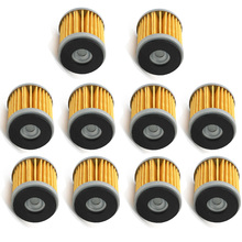 10Pcs Olie Filter Voor Yamaha YZ250 WR250F WR450F WR250X WR250R YZ450F YZ250F YFZ450 YZFR125 YZF125 WR125R WR125X Motorfiets Onderdelen