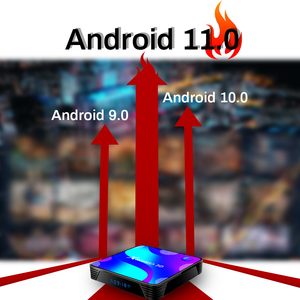 Image 5 - Android 11,0 caja de TV bluetooth 4k 3D 2,4G y 5,8G Wifi 4k 3D Youtube HDR + alta calidad muy rápido BOX 4GB 32GB 64GB 128G ROM