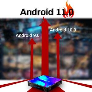 Image 5 - X88 PRO Android 11.0TV Box 2.4G e 5.8G Wifi RK3318 4GB 32GB 64GB 128G supporto Youtube Set Top Box