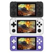 Powkiddy RG351P elektronik makine aksesuarları şarj edilebilir taşınabilir titreşim 2500 Video oyunu konsolu oynatıcı