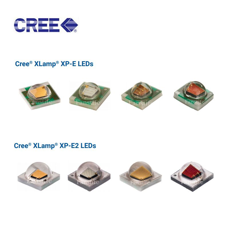 CREE XPE XPE2 Red Green Blue Yellow White RGBW 3W High Power Led With PCB