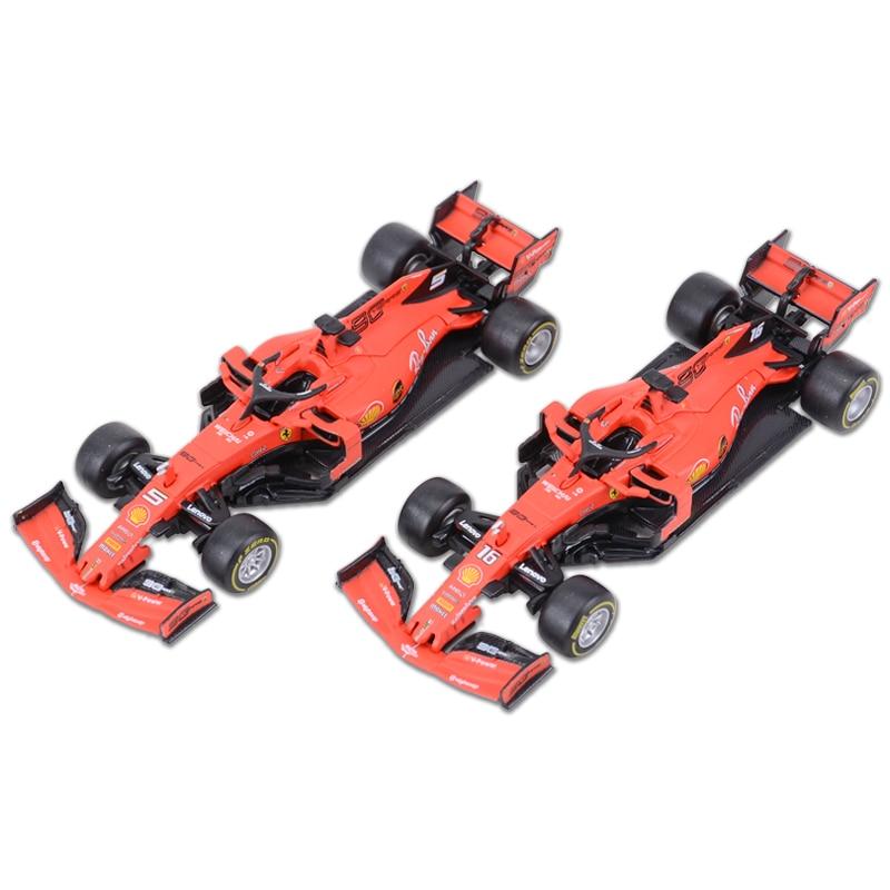 Bburago 1:43 2019 SF90 SF71H SF70H SF16H #5 #7 #16 F1 Racing Formula Car Static Simulation Diecast Alloy Model Car