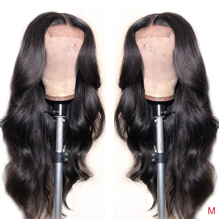 4x4 Lace Closure Wigs Human Hair Brazilian Body Wave Lace Wigs For Black Women Pre Plucked With Baby Hair 150% Density Remy