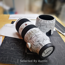 Lens Skin Decal Sticker Anti Kras Protector Voor Sony Fe 70 200 2.8GM Wrap Cover Case