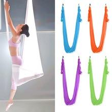 5*2.8M Flying-Aerial Yoga Hammock Fabric Swing Latest Multifunction Anti-gravity Yoga belts for yoga training Yoga for sport цена 2017