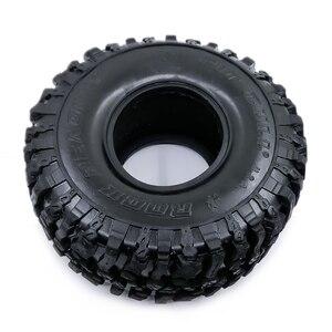 Image 3 - 4 Uds. De neumáticos blandos de 120MM y 1,9 pulgadas para SCX10 90046 D90 TRX4 RC Truck Crawler 1,9/2,2 Rim