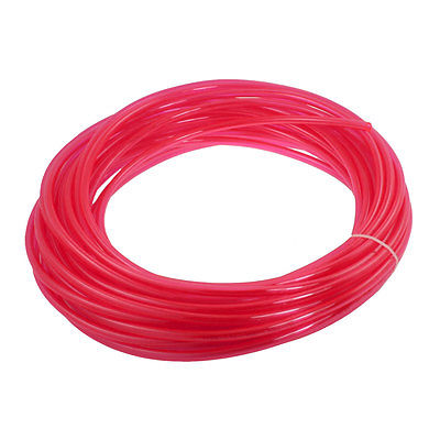 5mm x 8mm x 20m Air Pneumatic Polyurethane Tube PU Hose Clear Red Fhlno