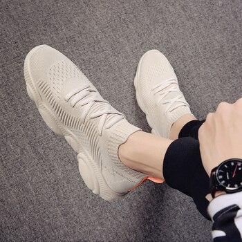 2019 Autumn Men Shoes Lightweight Breathable Men Casual Shoes High Quality Men