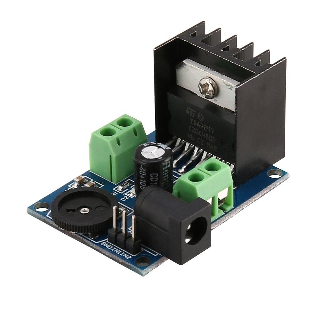 TDA7297 Super Mini DC 6-18V Power Amplifier Board Module Dual Channel Electronic DIY Tool Audio Amplify Volume Adjustable