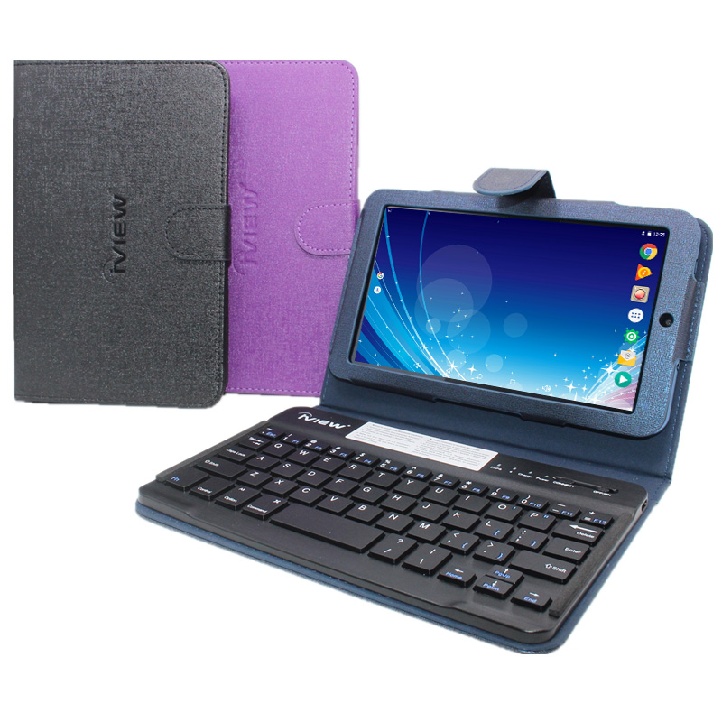 G10 7 Inch Tablet PC With Original Bluetooth Keyboard Case Android 6.0 Allwinner A33 Quad Core 1GB+ 8GB 1024 * 600 Pixels IPS