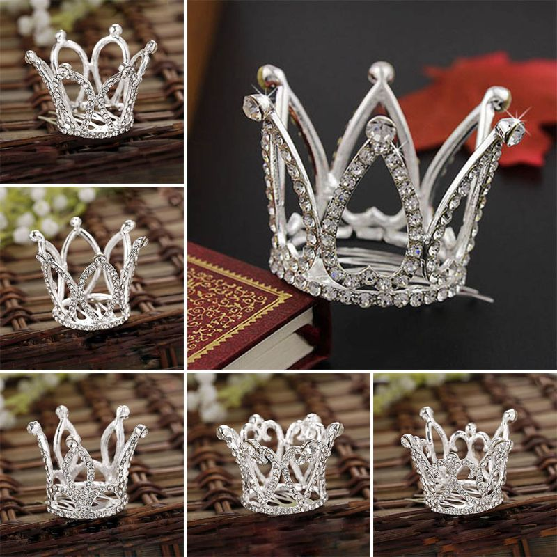 Baby Boy Girl Crown Newborn Photography Props Infants Photoshoot Accessories G99C