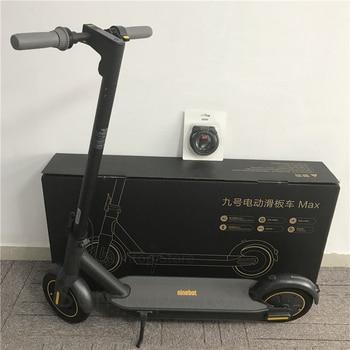 Patinete eléctrico inteligente Ninebot Max G30 2020, patinete plegable de 10 pulgadas, patinete neumático de 30 km/h, 65km, pantalla LED IPX5, Longboard