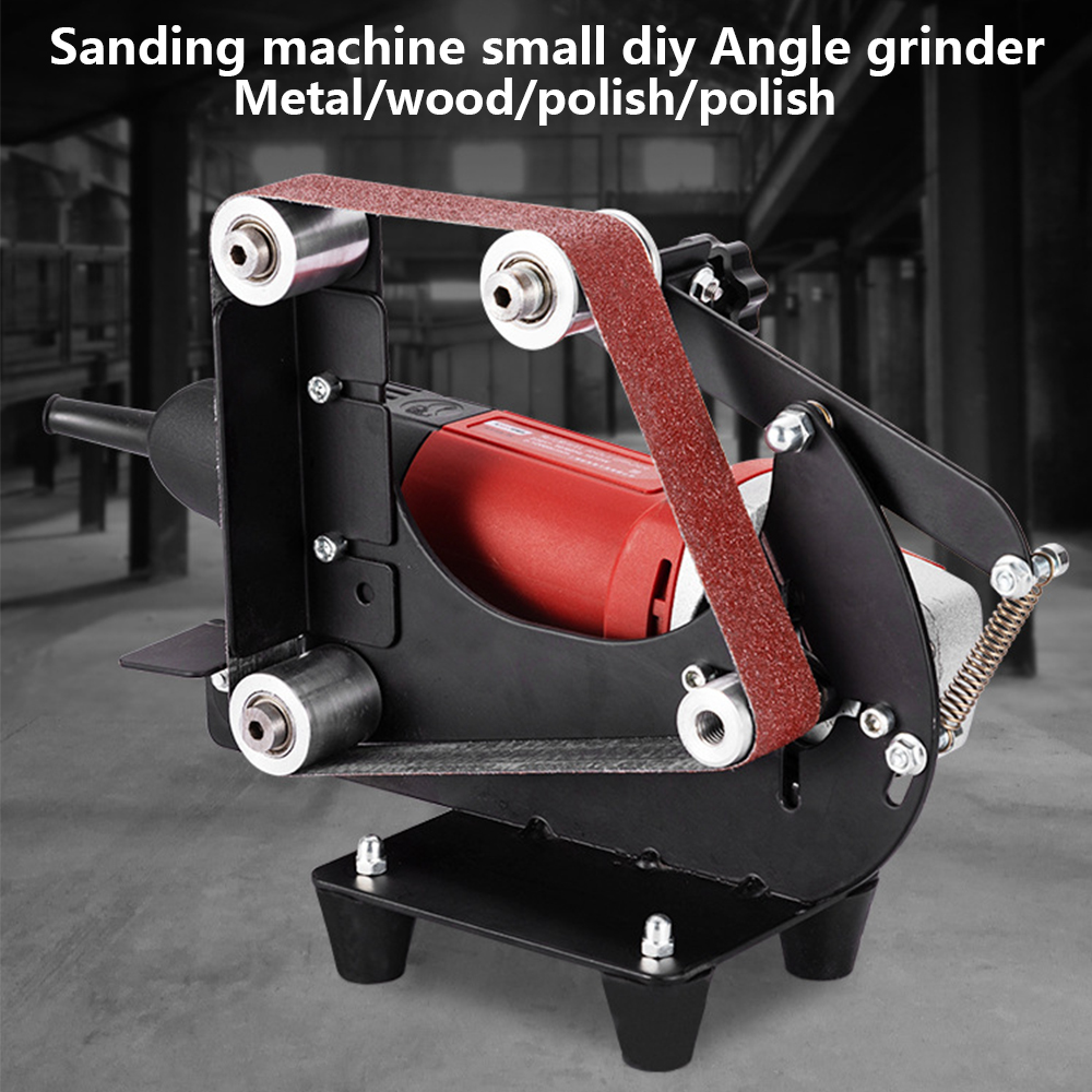 Multifunktionale Elektrische Eisen Winkel Grinder Schleifen Gürtel Adapter Für Zubehör Von Schleif Maschine Schleifen Polieren Maschine