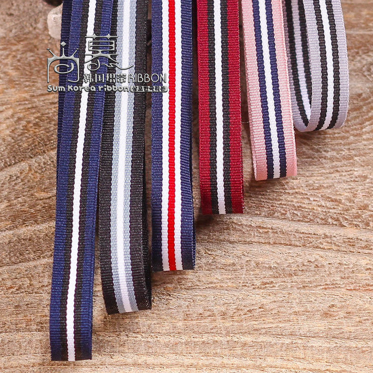 100yards 10mm double colors stripes ribbon for garment apparel shoe hat fashion accessories gift packing package bow in Ribbons from Home Garden