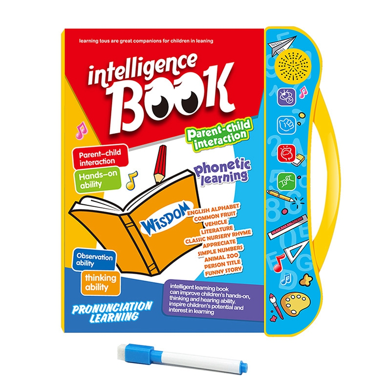 English Point Reading Kids Toys Children ligent Early Educational Machine EBook for Toddlers Learning English